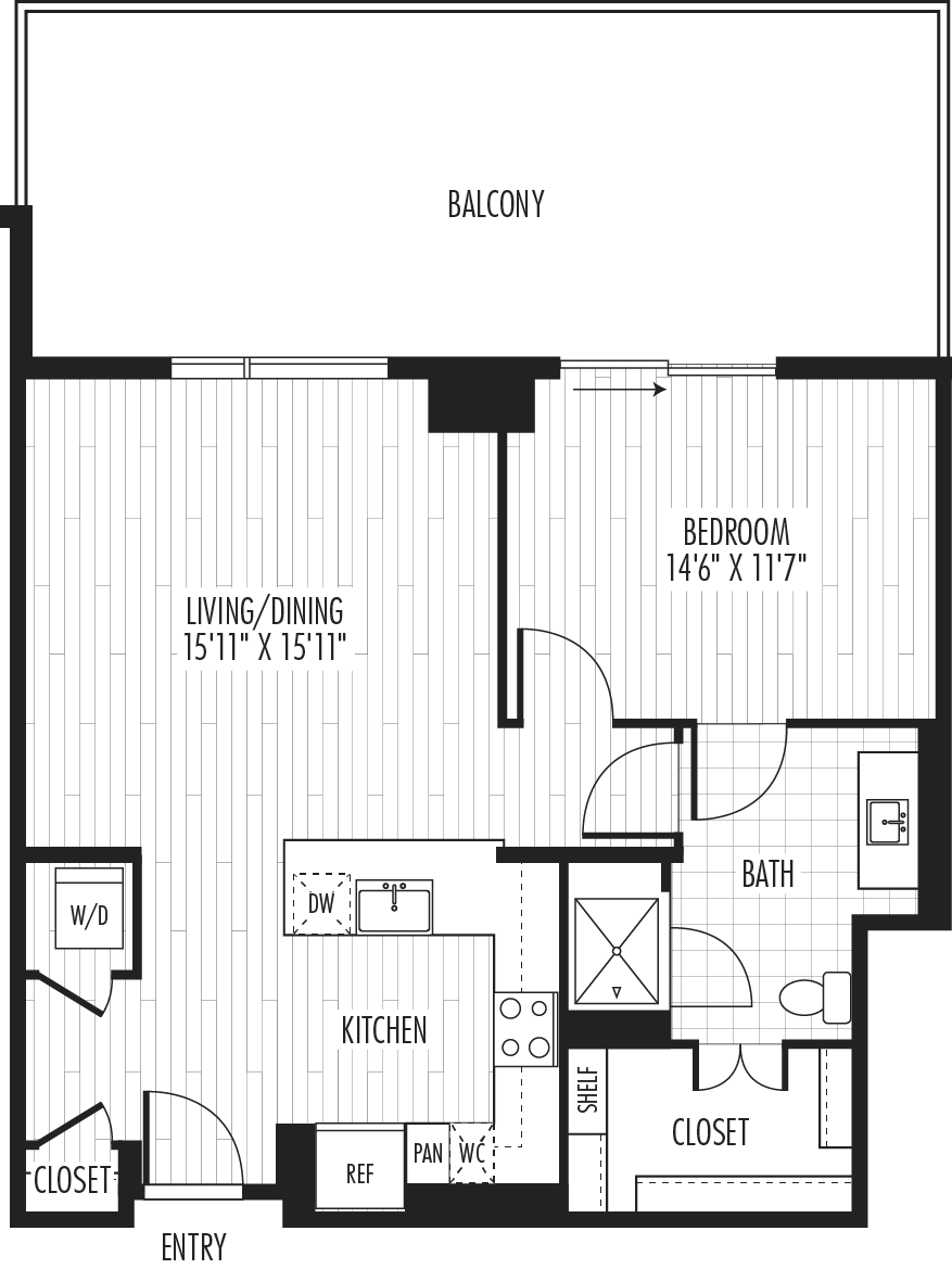 The Residences - Plan A2