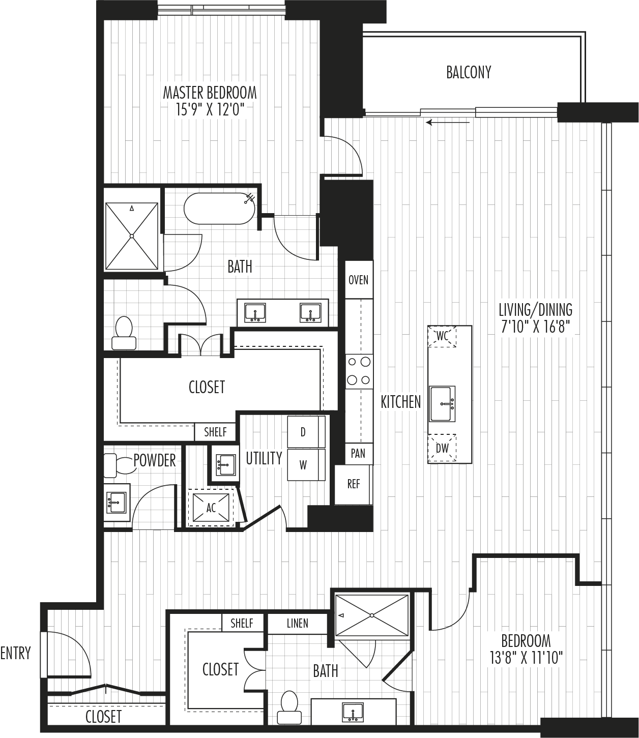 The Residences - Plan PH1