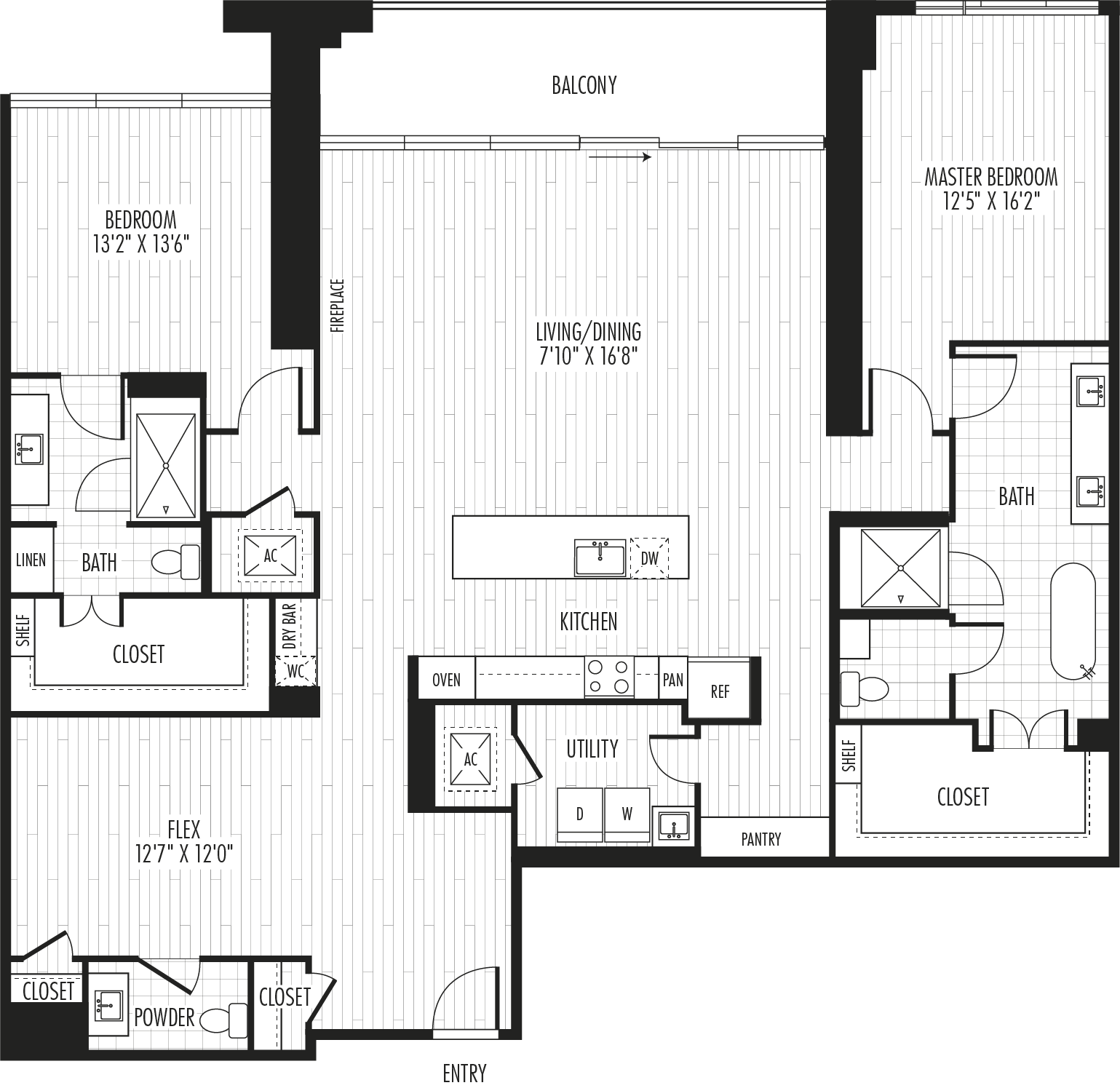 The Residences - Plan PH2