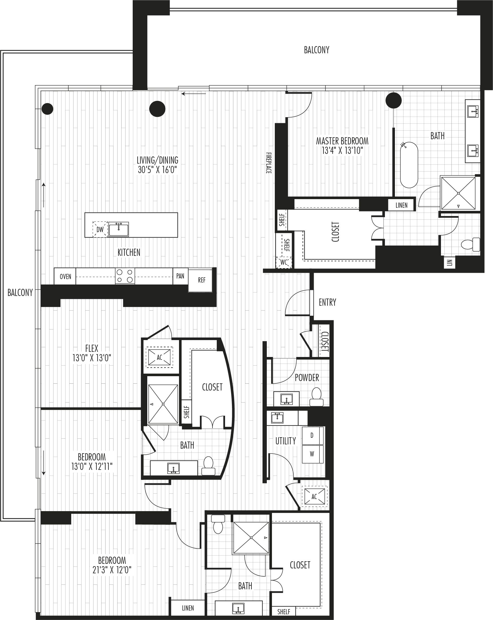 The Residences - Plan PH5