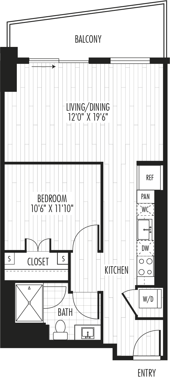The Residences - Plan S1