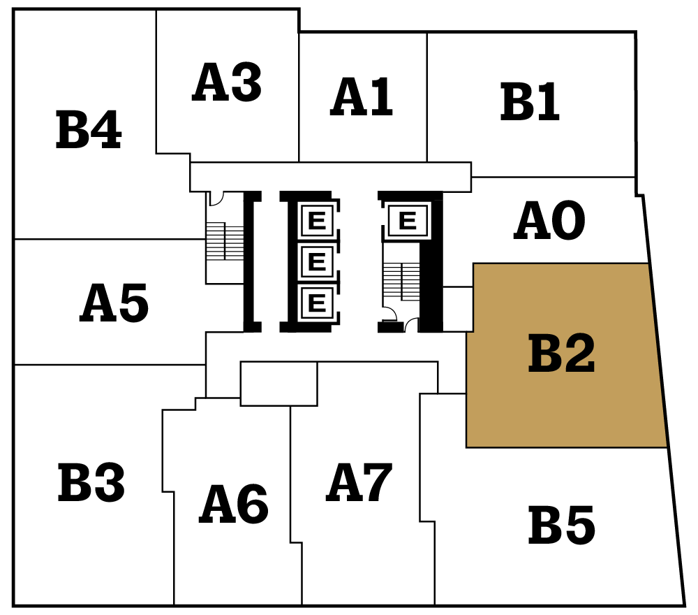 Floor Plan Key Map